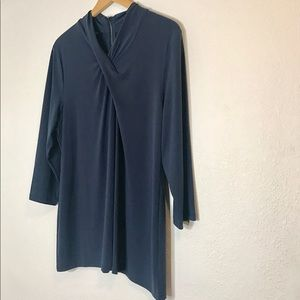 Alfani I Blue Blouse